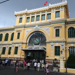 Poste centrale d'Hö Chi Minh - Viêt Nam