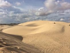 White sand Dunes - Muine au Viët Nam