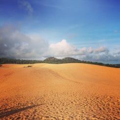 Red sand dunes - Mui Ne au Viët Nam